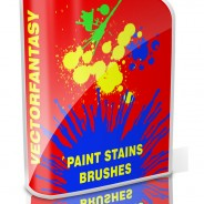 Free Photoshop Paint Stains Brushes