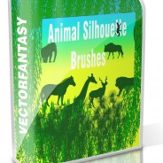 Free Animal Silhouette Brushes