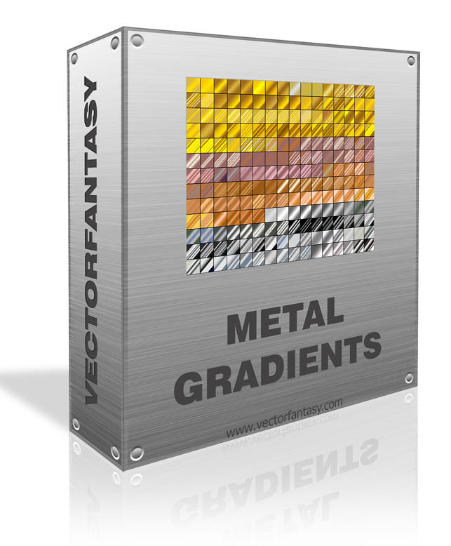 250 Free Metal Gradients for Photoshop  | www vectorfantasy com