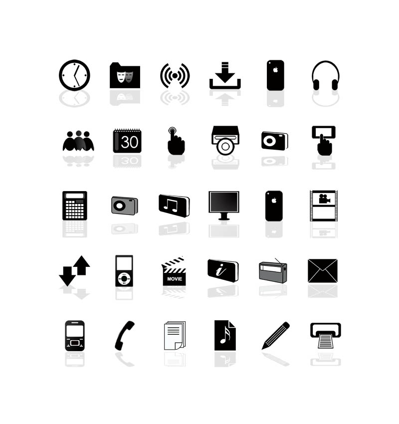 Free Web Design Icons set.1 – PNG & PSD available | www ...