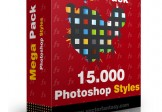 15000  Photoshop Layer Styles