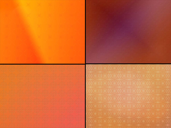 ORANGE BACKGROUNDS 1